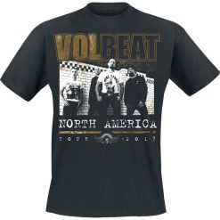T-shirty męskie z nadrukiem: Volbeat North America Tour 2017 T-Shirt czarny