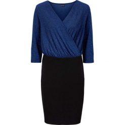 Sukienki balowe: Sukienka brokatowa bonprix ciemnoniebieski