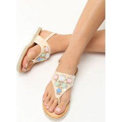 Rzymianki damskie: Beżowe Sandały Mantis