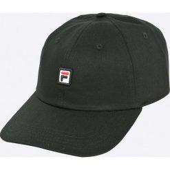 Fila - Czapka. Czarne czapki z daszkiem męskie Fila. W wyprzedaży za 99,90 zł.