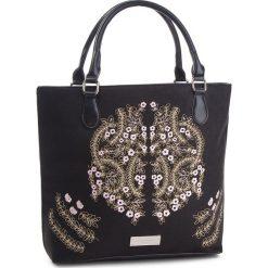 Torebka MONNARI - BAG5140-020 Black. Czarne torebki klasyczne damskie marki Monnari, z materiału. W wyprzedaży za 209,00 zł.