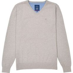 Kardigany męskie: Sweter z dekoltem w serek, z cienkiej dzianiny