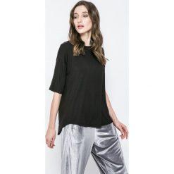 DKNY - Top piżamowy. Szare piżamy damskie DKNY, s, z dzianiny. W wyprzedaży za 99,90 zł.