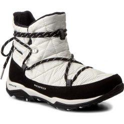 Śniegowce COLUMBIA - Loveland Shorty Omni-Heat BL1744 Sea Salt/Black 125. Białe buty zimowe damskie Columbia, z materiału, na niskim obcasie. W wyprzedaży za 259,00 zł.