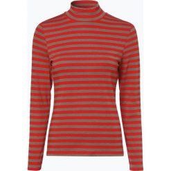 Franco Callegari - Damska koszulka z długim rękawem, pomarańczowy. Zielone t-shirty damskie marki Franco Callegari, z napisami. Za 99,95 zł.