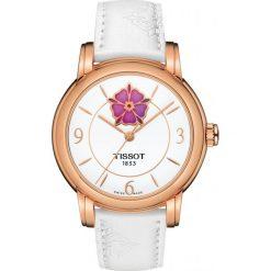RABAT ZEGAREK TISSOT T-Lady T050.207.37.017.05. Białe zegarki męskie TISSOT, ze stali. W wyprzedaży za 2723,60 zł.