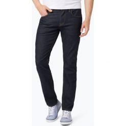 Tommy Hilfiger - Jeansy męskie – Denton, niebieski. Szare proste jeansy męskie marki TOMMY HILFIGER, z bawełny. Za 449,95 zł.