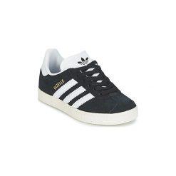 Buty Dziecko adidas  GAZELLE C. Czarne trampki chłopięce Adidas. Za 239,00 zł.