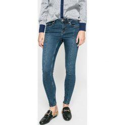 Noisy May - Jeansy. Niebieskie jeansy damskie rurki marki Noisy May, z bawełny. W wyprzedaży za 79,90 zł.