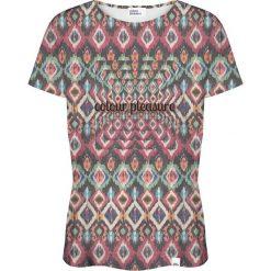 Colour Pleasure Koszulka damska CP-030 263 zielono-fioletowa r. XS/S. Bluzki asymetryczne Colour pleasure, s. Za 70,35 zł.