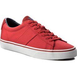 Tenisówki POLO RALPH LAUREN - Sayer 816688479006 Red. Czerwone tenisówki męskie marki Polo Ralph Lauren, z gumy. W wyprzedaży za 259,00 zł.