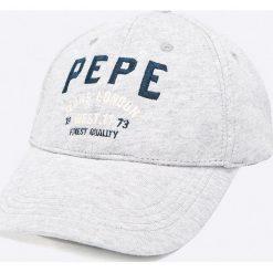 Pepe Jeans - Czapka Arsenal. Szare czapki z daszkiem męskie Pepe Jeans. W wyprzedaży za 59,90 zł.