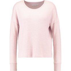 Swetry klasyczne damskie: Abercrombie & Fitch STRIPE Sweter purple dd