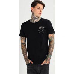 T-shirty męskie z nadrukiem: Religion CROSSBONES Tshirt z nadrukiem black