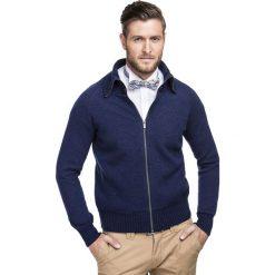 Sweter ALBERTO SWG000005. Niebieskie swetry rozpinane męskie Giacomo Conti, na jesień, m, z materiału. Za 399,00 zł.