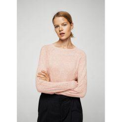 Mango - Sweter Vanet1. Szare swetry klasyczne damskie marki Mango, l, z dzianiny. W wyprzedaży za 44,90 zł.