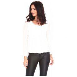 La Belle Parisienne Bluzka Damska Shanon L Biała. Czarne bluzki z odkrytymi ramionami marki Fille Du Couturier, z bawełny. Za 125,00 zł.