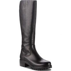Kozaki NESSI - 17274 Czarny 1. Czarne buty zimowe damskie Nessi, ze skóry, na obcasie. Za 449,00 zł.