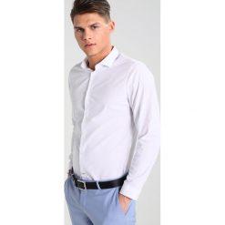 Koszule męskie na spinki: Burton Menswear London SKINNY FIT Koszula biznesowa white
