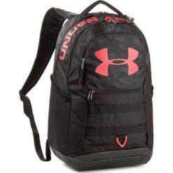 Plecak UNDER ARMOUR - Ua Big Logo 5.0 1300296-009 Czarny. Czarne plecaki męskie marki Under Armour, z tkaniny, sportowe. W wyprzedaży za 189,00 zł.