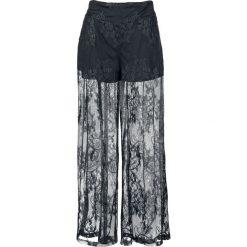 Bermudy damskie: Jawbreaker Lace Trousers Krótkie spodenki damskie czarny