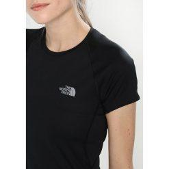 The North Face FLEX Tshirt z nadrukiem black. Różowe topy sportowe damskie marki The North Face, m, z nadrukiem, z bawełny. Za 129,00 zł.