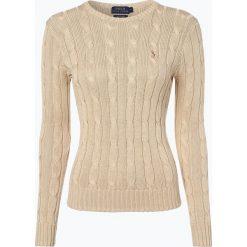 Swetry klasyczne damskie: Polo Ralph Lauren – Sweter damski, beżowy