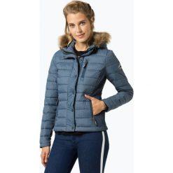 Superdry - Damska kurtka pikowana, niebieski. Niebieskie kurtki damskie pikowane Superdry, xl. Za 399,95 zł.