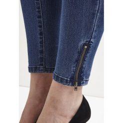 Boyfriendy damskie: Vila Jeans Skinny Fit medium blue