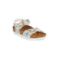 Sandały Dziecko  Birkenstock  RIO. Białe sandały dziewczęce Birkenstock. Za 255,15 zł.