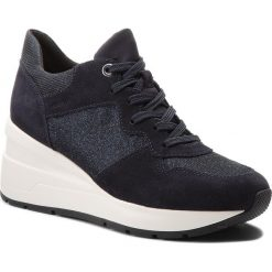 Sneakersy GEOX - D Zosma C D828LC 022EW C4002 Navy. Niebieskie sneakersy damskie Geox, z materiału. W wyprzedaży za 319,00 zł.