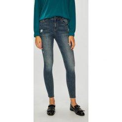 Medicine - Jeansy Hand Made. Niebieskie jeansy damskie MEDICINE, z bawełny, z podwyższonym stanem. Za 139,90 zł.