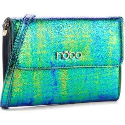 Torebki klasyczne damskie: Torebka NOBO - NBAG-C3604-C008 Niebieski Zielony
