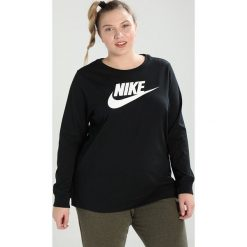 Bluzki asymetryczne: Nike Sportswear TEE Bluzka z długim rękawem black/white