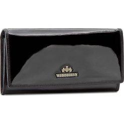 Duży Portfel Damski WITTCHEN - Verona Wallet 25-1-075-1 Black. Czarne portfele damskie marki Wittchen, z lakierowanej skóry. W wyprzedaży za 289,00 zł.