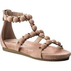 Rzymianki damskie: Sandały ALMA EN PENA – V18465  Suede Pink