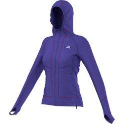 Bluzy rozpinane damskie: Adidas Bluza damska Terrex Swift Pordoi Hooded Fleece fioletowa r. 36 (S09546)