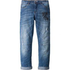 """Dżinsy ze stretchem bonprix niebieski """"stone"""". Niebieskie jeansy męskie relaxed fit marki bonprix. Za 74,99 zł."""