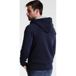 GANT ORIGINAL HOODIE Bluza rozpinana evening blue. Niebieskie bluzy męskie rozpinane marki GANT. Za 509,00 zł.