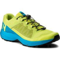 Buty SALOMON - Xa Elevate 401360 29 V0 Acid Lime/Hawaiian Surf/Black. Szare buty do biegania męskie marki Salomon, z gore-texu, na sznurówki, gore-tex. W wyprzedaży za 349,00 zł.