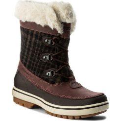 Buty zimowe damskie: Śniegowce HELLY HANSEN – W Georgina 112-88.766 Whiskey/Coffee Bearn/Natura/Soccer Gum