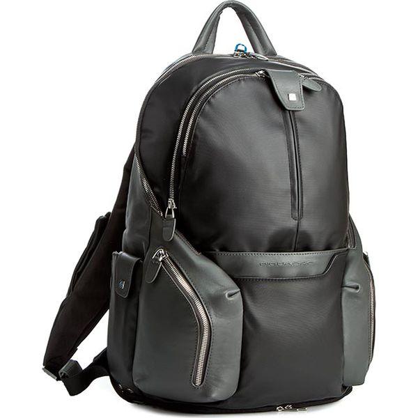 61cd8071eff23 Plecak PIQUADRO - CA2943OS/N Czarny - Czarne torby męskie skórzane  Piquadro, bez wzorów, ze skóry ekologicznej. Za 1682,00 zł.