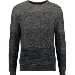 Swetry klasyczne męskie: Selected Homme SHXELLIOT CREW NECK Sweter gunmetal/black grading