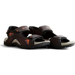 """Sandały damskie: Sandały """"Volda"""" w kolorze brązowym"""