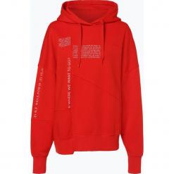 Review - Damska bluza nierozpinana, czerwony. Szare bluzy damskie marki Review, l, z tkaniny, z okrągłym kołnierzem. Za 199,95 zł.