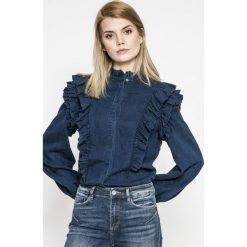 Only - Koszula Caolei. Czarne koszule damskie marki ONLY, l, z materiału, z kapturem. W wyprzedaży za 99,90 zł.
