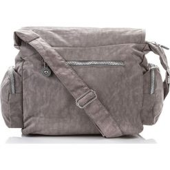 Męska torba na ramię doskonała jakość Szary. Szare torby na ramię męskie marki Bag Street, w paski, na ramię, małe. Za 57,90 zł.