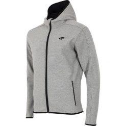 Męska bluza sportowa z kapturem Grey. Szare bluzy męskie rozpinane marki Astratex, m, z bawełny, z kapturem. Za 160,29 zł.
