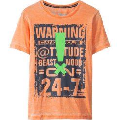 Odzież chłopięca: T-shirt bonprix nektarynka z nadrukiem