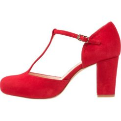 Unisa NETAN Czółenka na platformie red. Czarne buty ślubne damskie marki L'INTERVALLE, z materiału. W wyprzedaży za 367,20 zł.